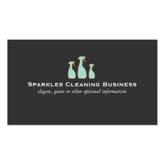 Spray Bottle Home Cleaning Service Pack Of Standard Business Cards