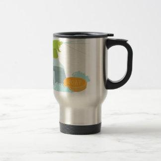 Spray Cleaner Stainless Steel Travel Mug