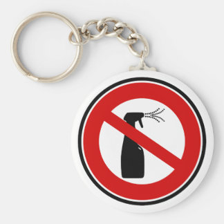 spray free chemical free key chain