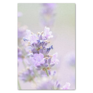 "Spray of Lavender Floral 10"" X 15"" Tissue Paper"
