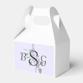 Spray of Lilacs Wedding Products Wedding Favour Box