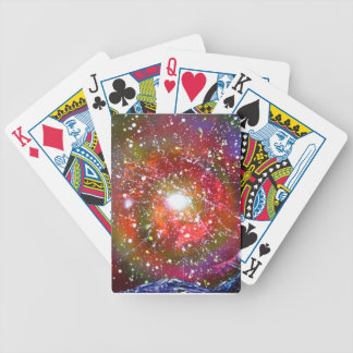 Spray Paint Art Night Sky Space Painting Bicycle Playing Cards