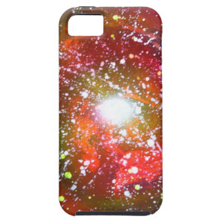 Spray Paint Art Night Sky Space Painting iPhone 5 Covers