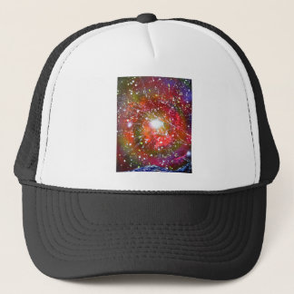 Spray Paint Art Night Sky Space Painting Trucker Hat