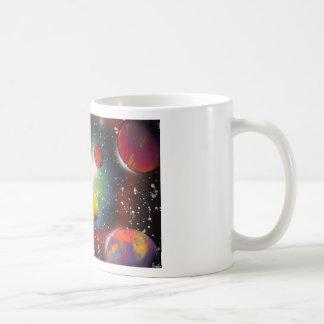 Spray Paint Art Space Galaxy Painting Coffee Mug