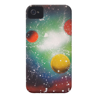 Spray Paint Art Space Galaxy Painting iPhone 4 Case-Mate Case