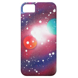 Spray Paint Art Space Galaxy Painting iPhone 5 Cover