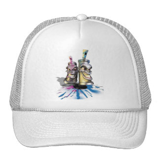 SPRAY PAINT CANS HAT