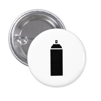 Spray Paint Pictogram Button