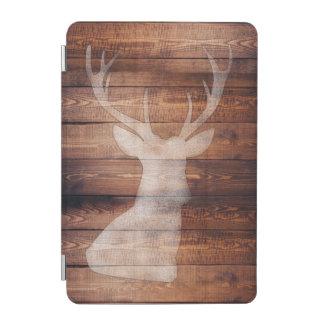Spray Painted Deer on Wood iPad Mini Smart Cover iPad Mini Cover