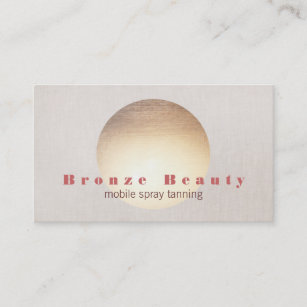 Mobile spray tanning business cards zazzle au spray tanning gold sun business card reheart Gallery