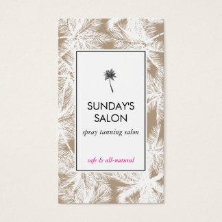Spray Tanning Salon Tropical Tan/White Palms