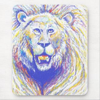 spraypaint lion msp mouse pad