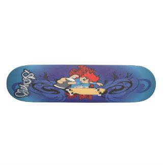 spraypainter skateboard