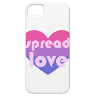 Spread Bisexual Love Barely There iPhone 5 Case