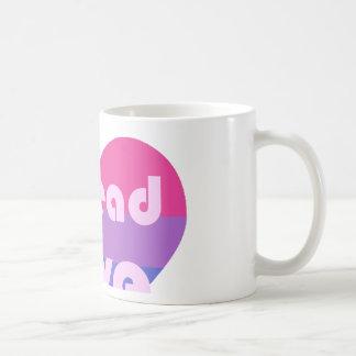Spread Bisexual Love Coffee Mug