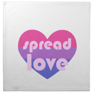 Spread Bisexual Love Napkin