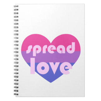 Spread Bisexual Love Notebook