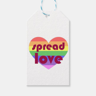 Spread Gay Love Gift Tags