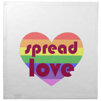 Spread Gay Love Napkin