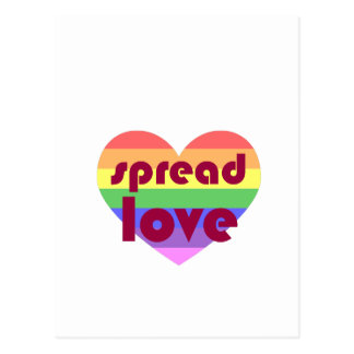 Spread Gay Love Postcard