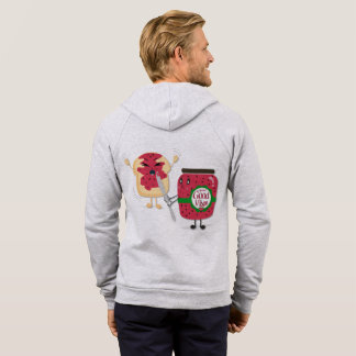 Spread Good Vibes Fleece Zip Hoodie