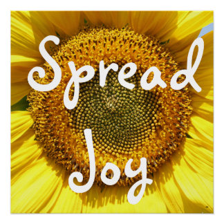 Spread Joy Poster