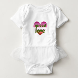 Spread Lesbian Love Baby Bodysuit
