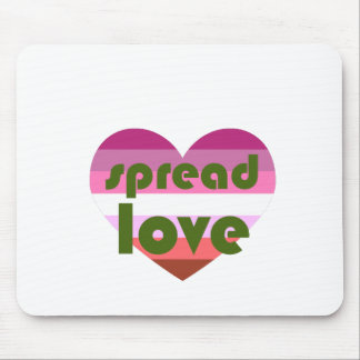 Spread Lesbian Love Mouse Pad