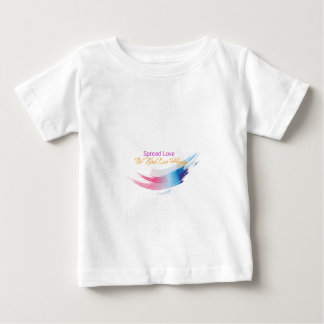 Spread Love, Be kind Live Happy Baby T-Shirt