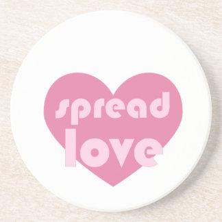Spread Love (general) Coaster