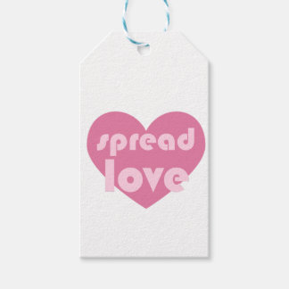 Spread Love (general) Gift Tags