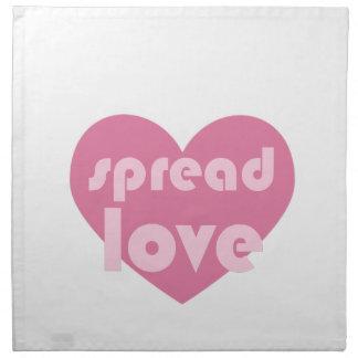 Spread Love (general) Napkin