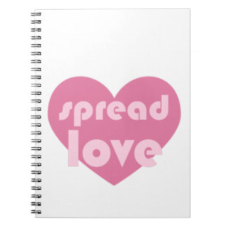 Spread Love (general) Notebook
