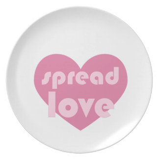 Spread Love (general) Plate