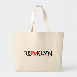 """""""Spread love it's the Brooklyn way!"""" large tote"""