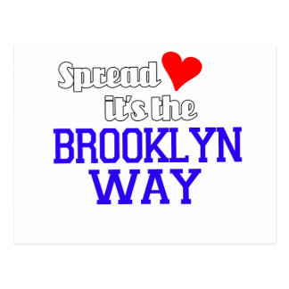 Spread Love The Brooklyn Way Post Cards