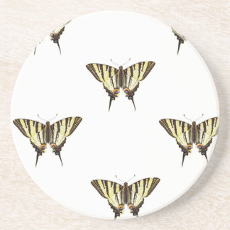 spread out butterflies coaster