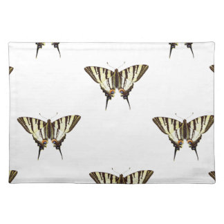spread out butterflies placemat