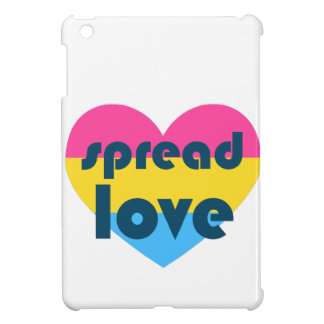 Spread Pansexual Love Cover For The iPad Mini