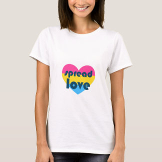 Spread Pansexual Love T-Shirt