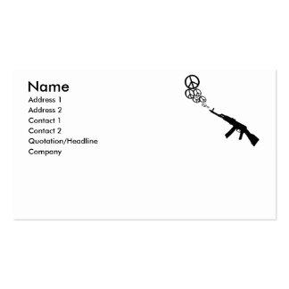 Spread Peace Business Card Template