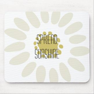 Spread Sunshine Mouse Pad