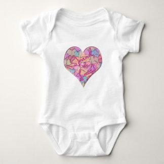 Spread the Love 1 Baby Bodysuit