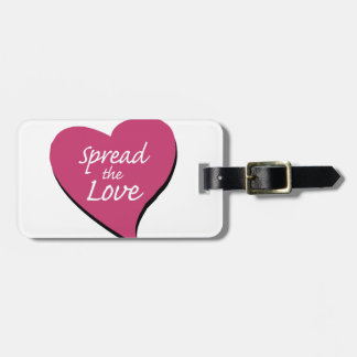 Spread The Love Luggage Tag