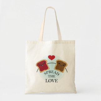 SPREAD THE LOVE TOTE BAG