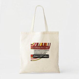 Spread the Word. Common Core is Unacceptable. Tote Bag