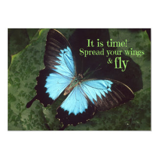 Spread your Wings and Fly Butterfly Card