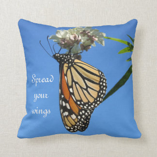 Spread Your Wings - Butterfly - Throw Pillow
