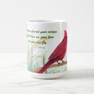 Spread Your Wings - Cardinal Mug